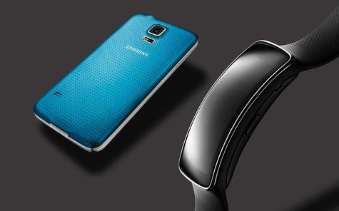 Samsung Galaxy S5 en color azul