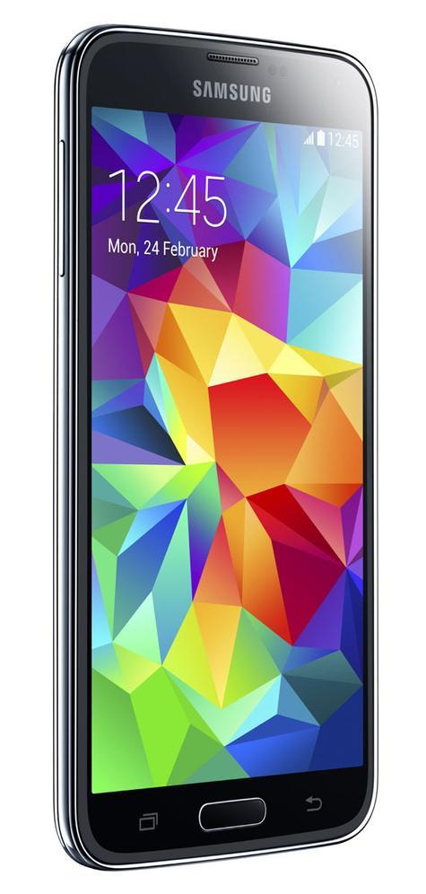 Samsung Galaxy S5 vista lateral
