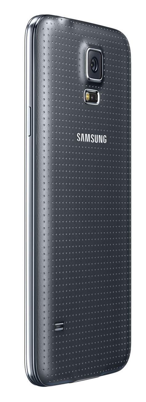 Samsung Galaxy S5 vista trasera lateral