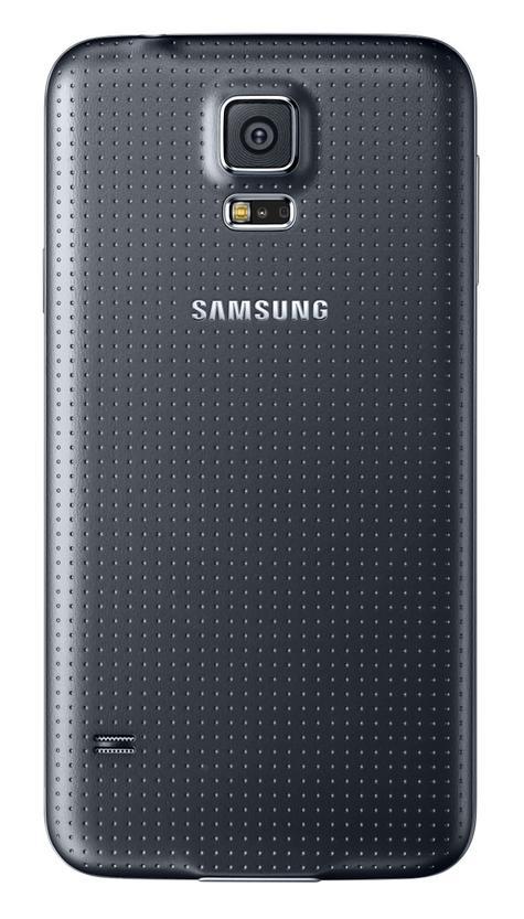 Samsung Galaxy S5 vista trasera