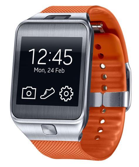 Samsung Gear 2 en color naranja