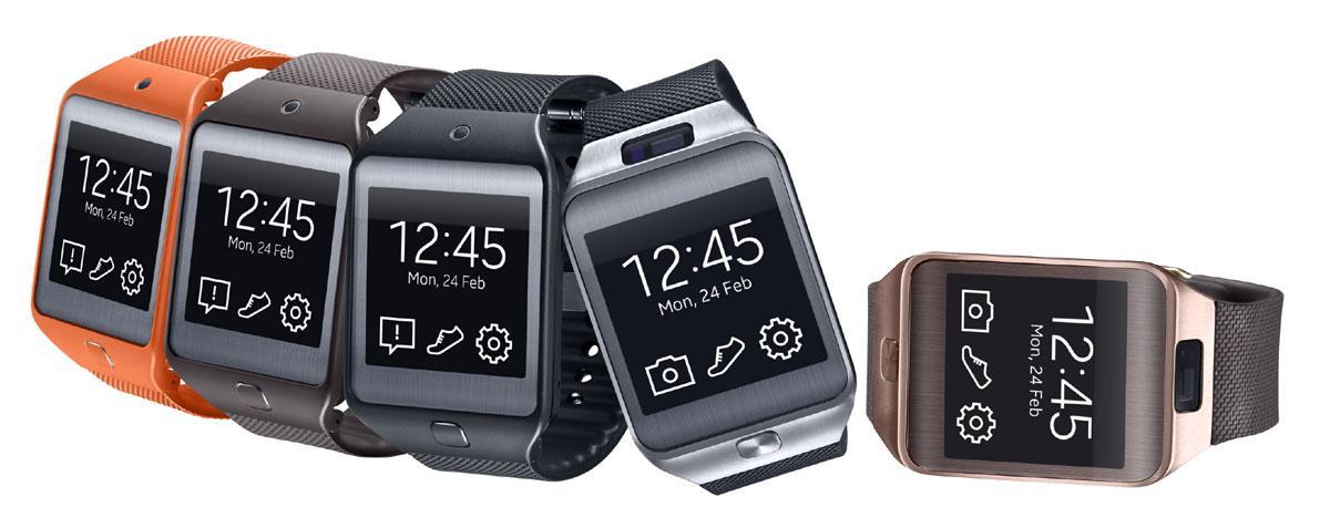 Samsung Gear 2 en varios colores