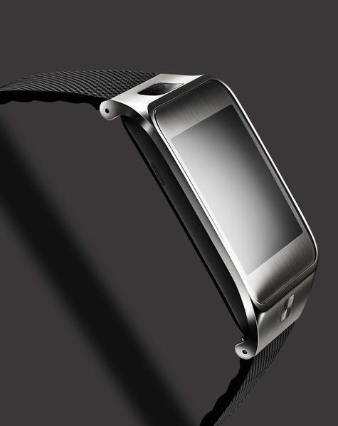 Samsung Gear 2 vista lateral