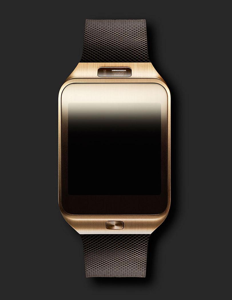 Samsung Gear 2 de color dorado