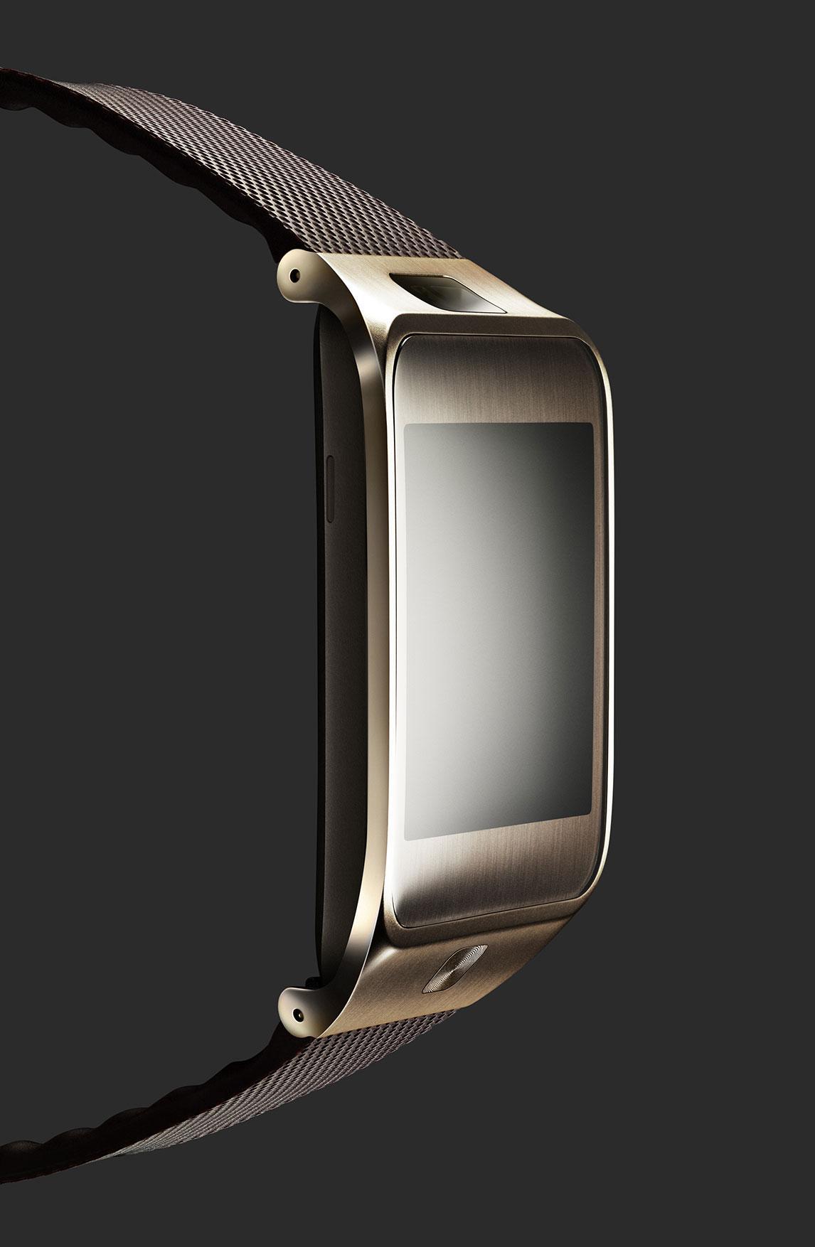 Samsung Gear 2 de color visto de lado