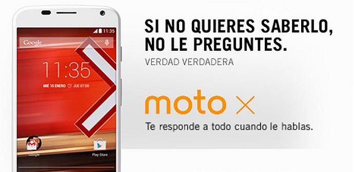 Motorola Moto X con Yoigo