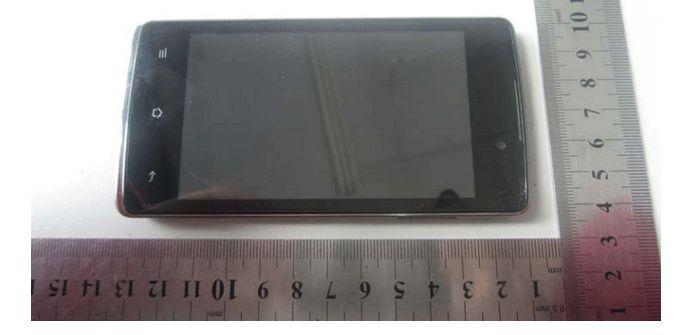 Oppo R1001 frontal