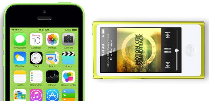apertura iphone 6 iphone 5c ipod nano