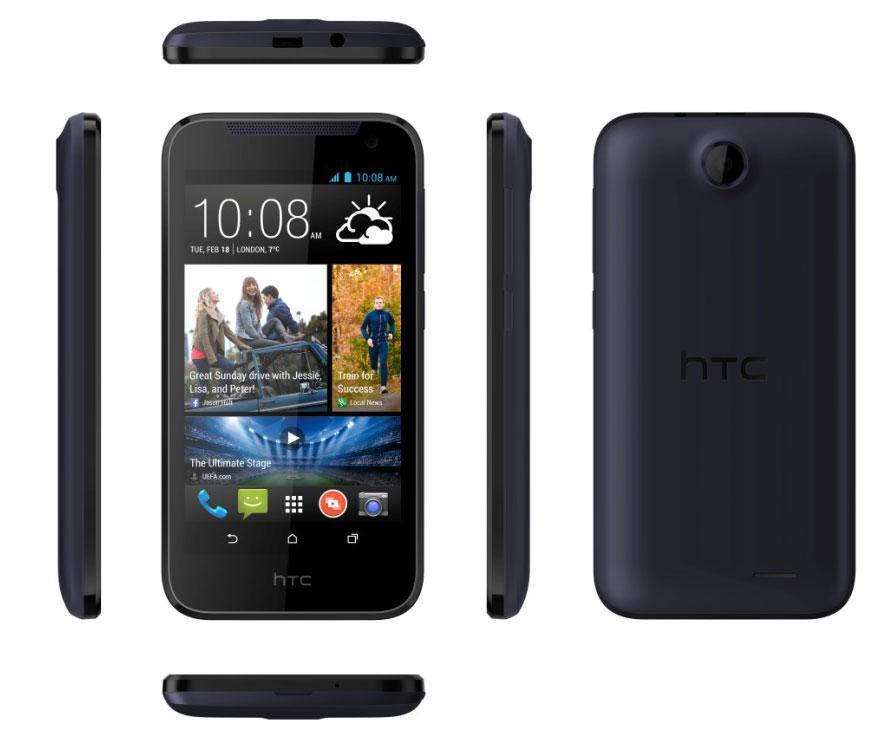 HTC Desire 310 en color negro