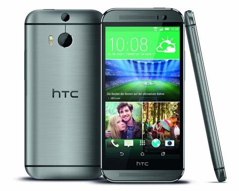 HTC One M8 en color gris