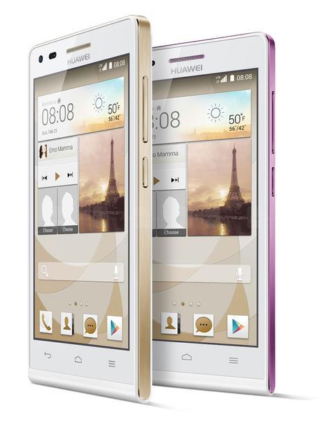 Huawei Ascend G6 vista frontal