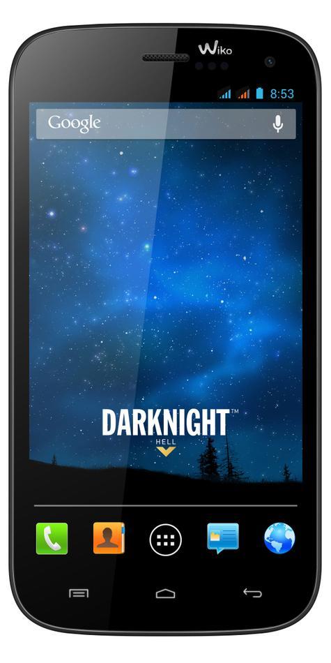 Wiko Darknight vista frontal