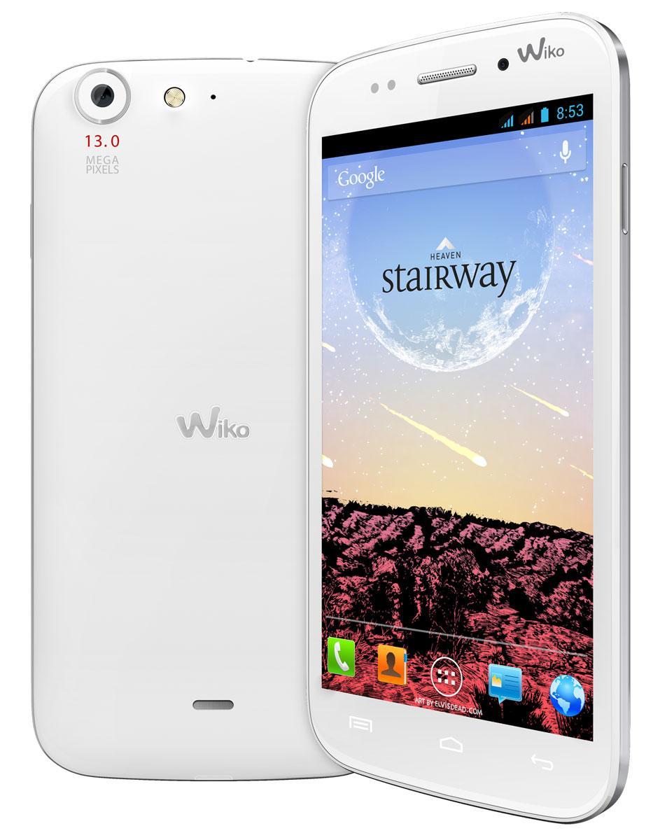 Wiko Starirway en color blanco