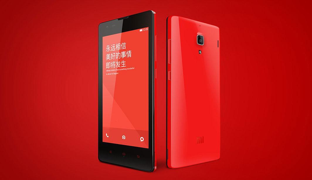 Xiaomi Red Rice en rojo y negro