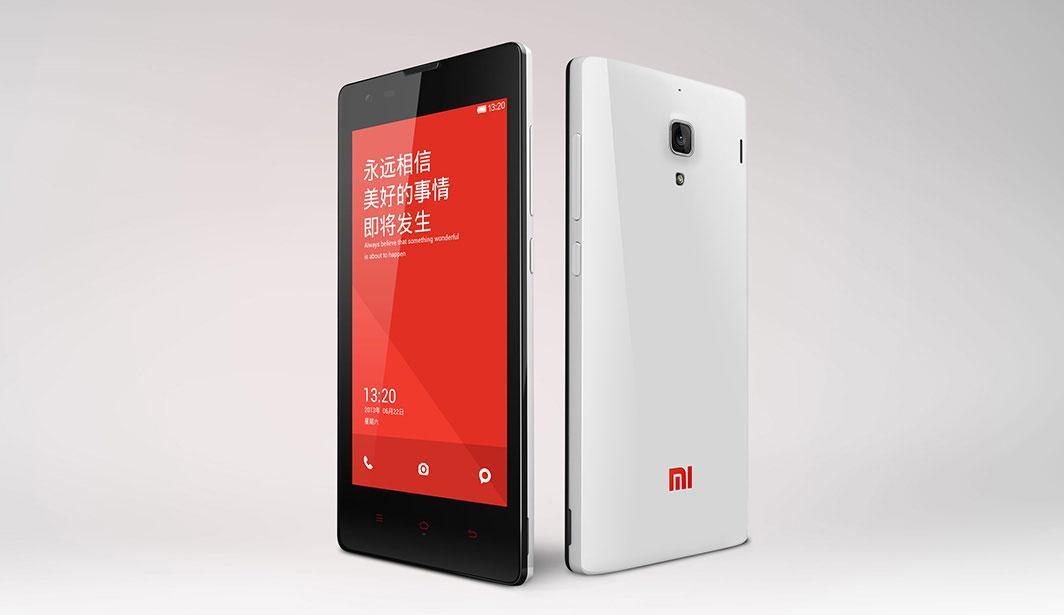 Xiaomi Red Rice en rojo y blanco