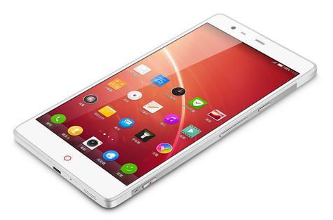 ZTE Nubia Z6 en color blanco con Android