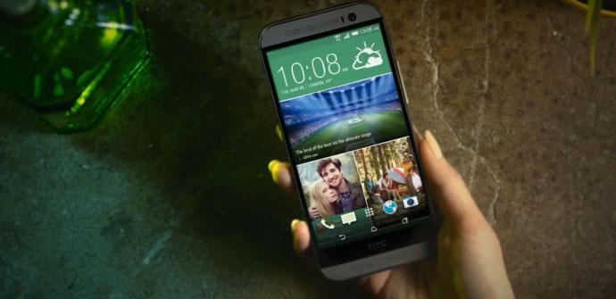 Pantalla del HTC One M8