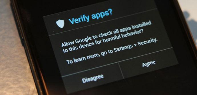 Funcionamiento de Verify Apps
