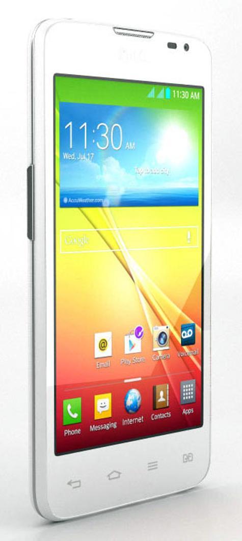 LG L65 de color blanco