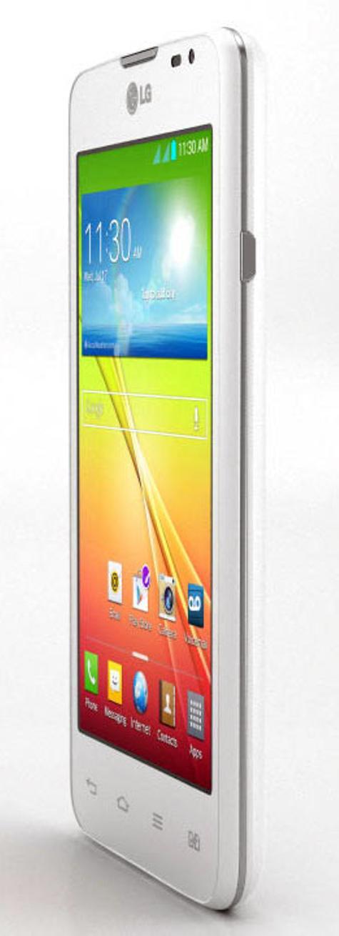 LG L65 con sistema operativo Android