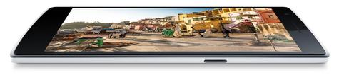 OnePlus One con la pantalla encendida