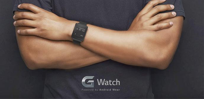 Diseño del LG G Watch