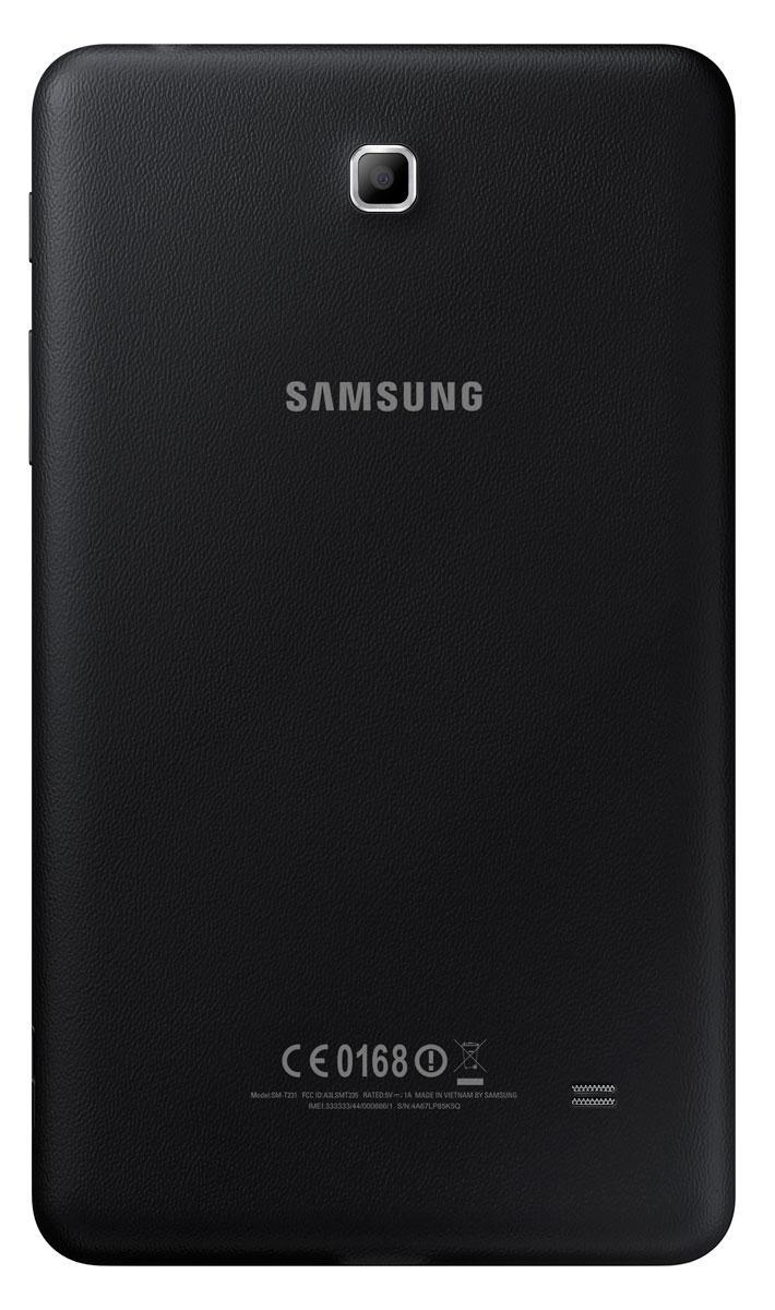 Samsung Galaxy Tab4 7.0 en negro vista por detrás