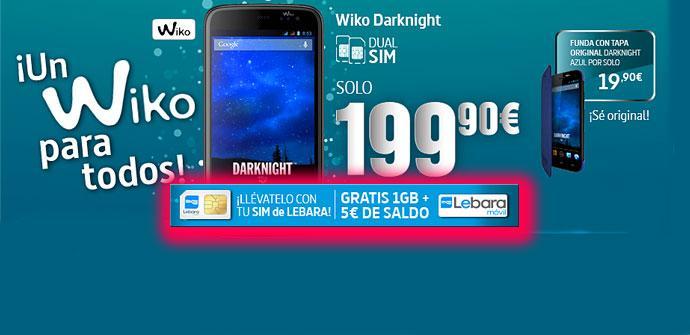 Wiko Darknight oferta de telecor
