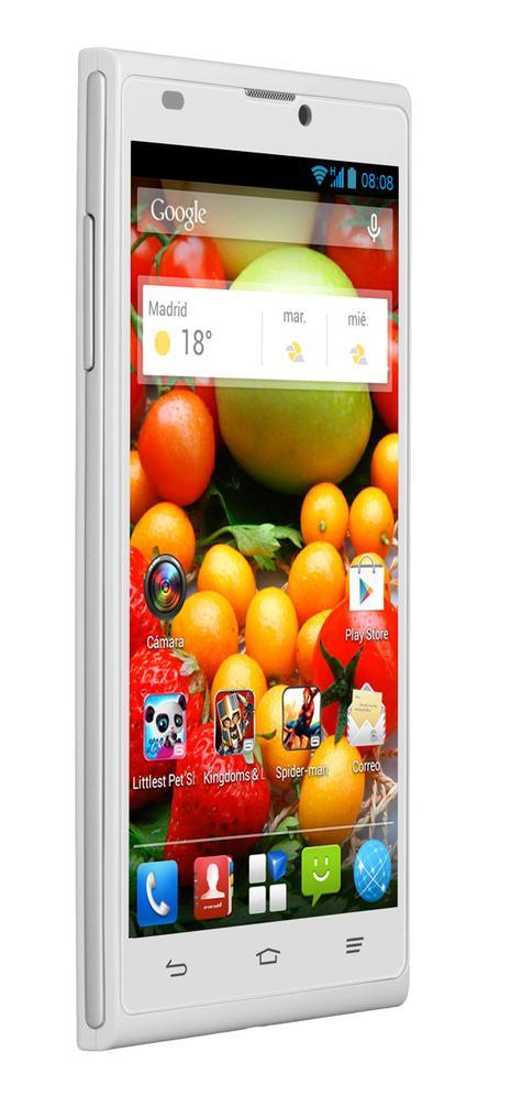 ZTE Blade L2 en color blanco con sistema Android