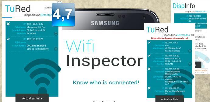 Apertura de Inspector WiFi