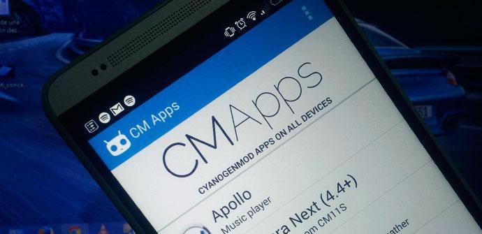 Aplicaciones CyanogenMod