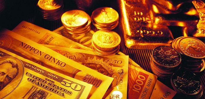Dinero en billetes y monedas