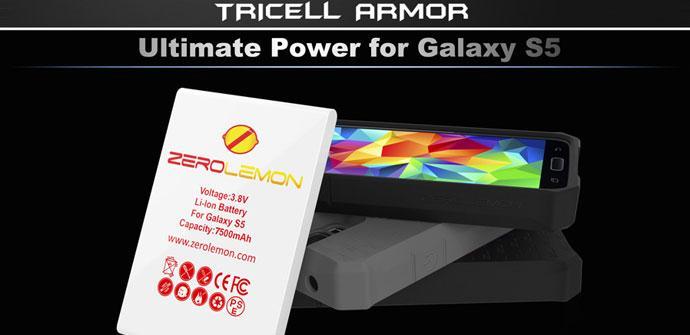 Bateria accesoria para el Samsung Galaxy S5