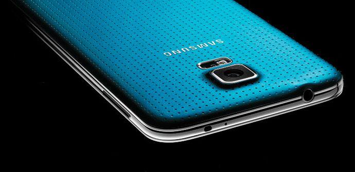 Carcasa trasera del Samsung Galaxy S5
