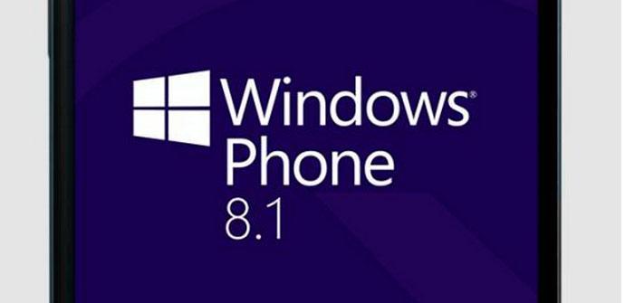 Pantalla de Windows Phone 8.1