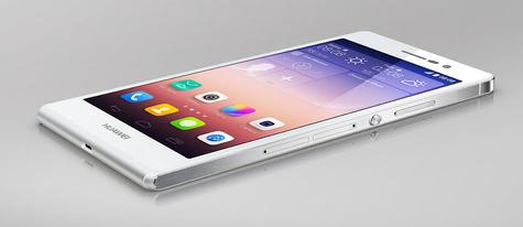 Huawei Ascend P7 blanco
