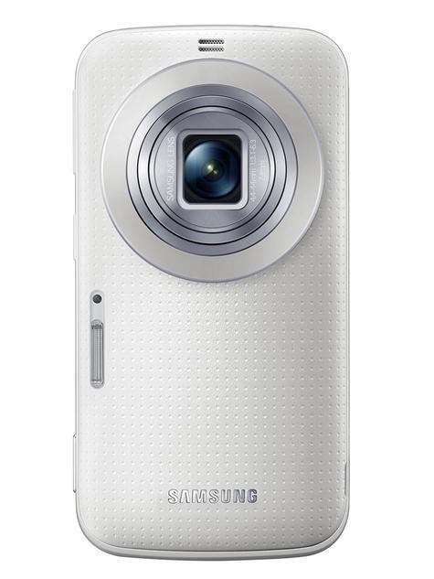 Samsung Galaxy K Zoom en color blanco