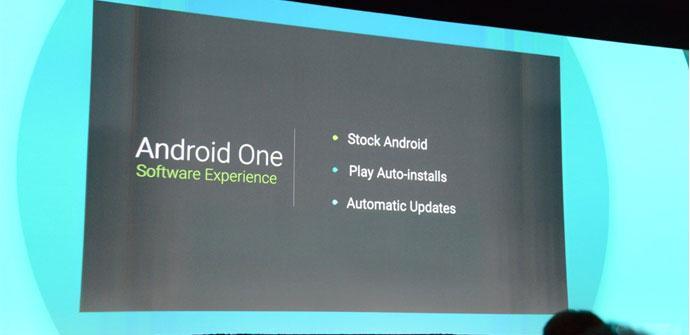 Presentacion de Android One