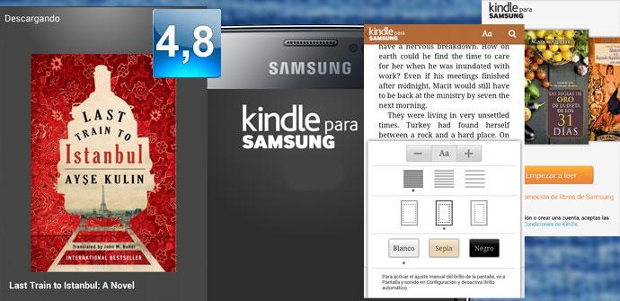 Apertura Kindle para Samsung