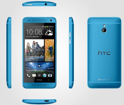HTC One Mini 2 en color azul