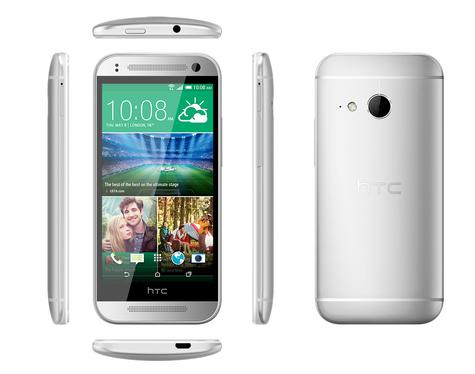 HTC One Mini 2 en color blanco