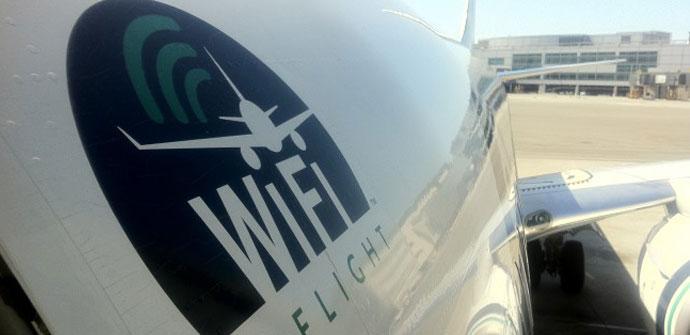 Internet por WiFi en aviones