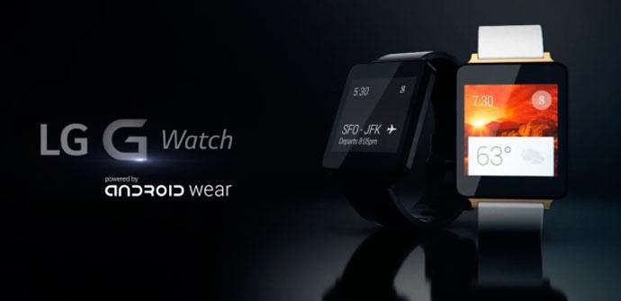 Presentacion oficial del LG G Watch
