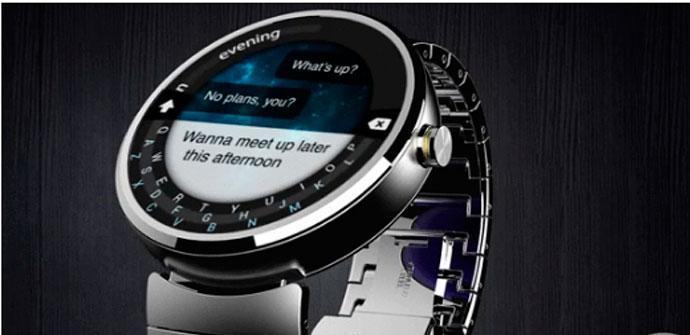 Teclado del Motorola Moto 360