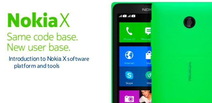 Nokia X platform 1.0