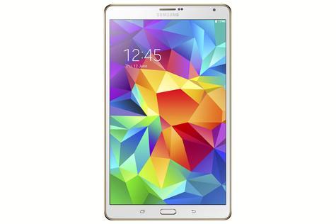 Samsung Galaxy Tab S en color blanco