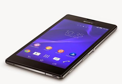 Sony Xperia T3 en color negro