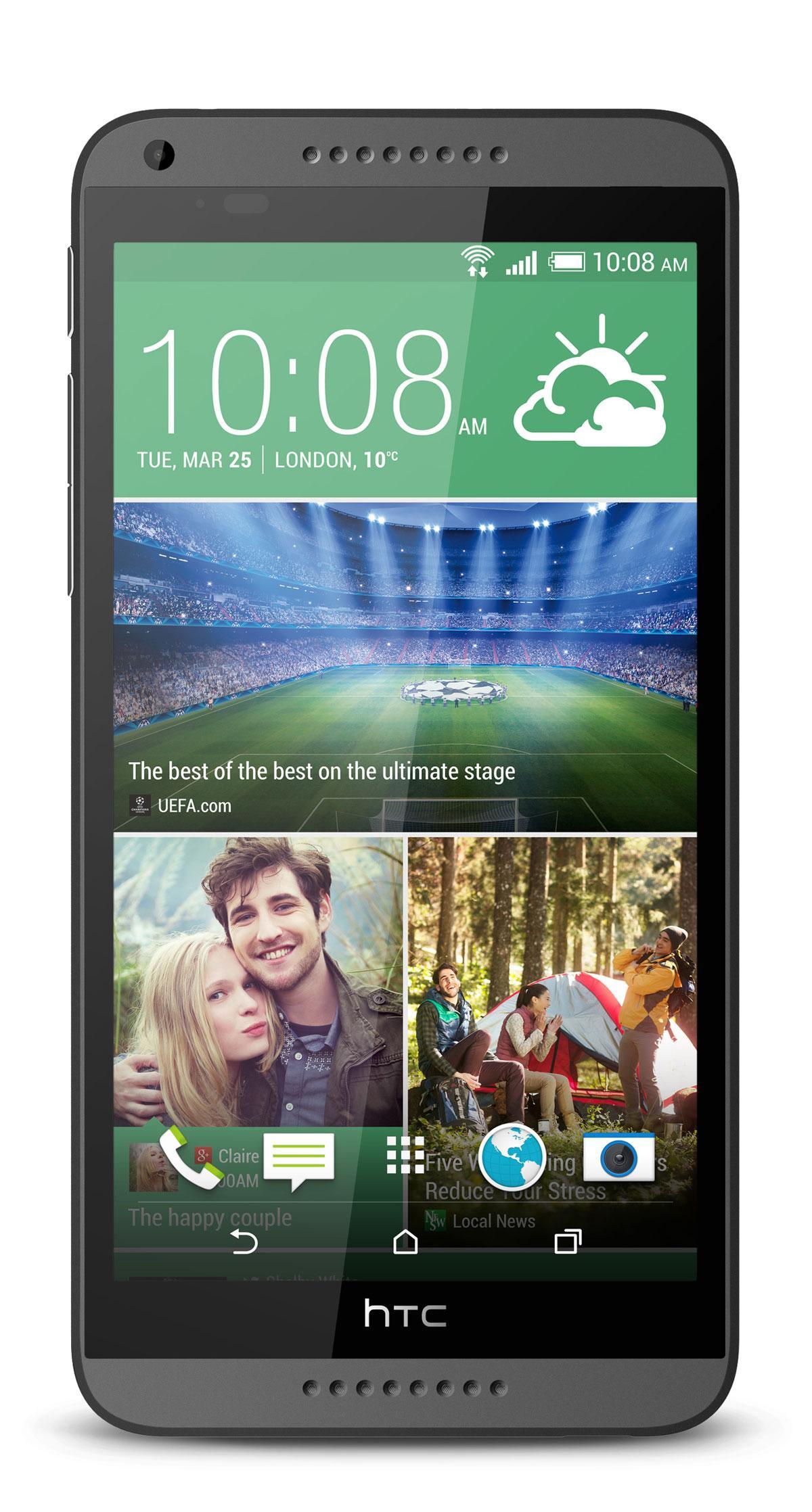 HTC Desire 816 vista frontal