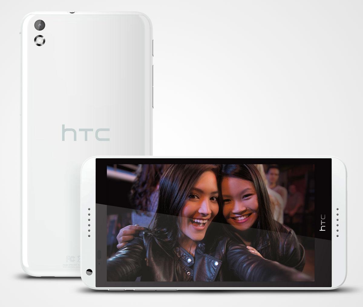 HTC Desire 816 en color blanco