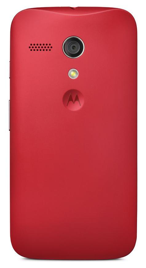 Motorola Moto G 4G rojo